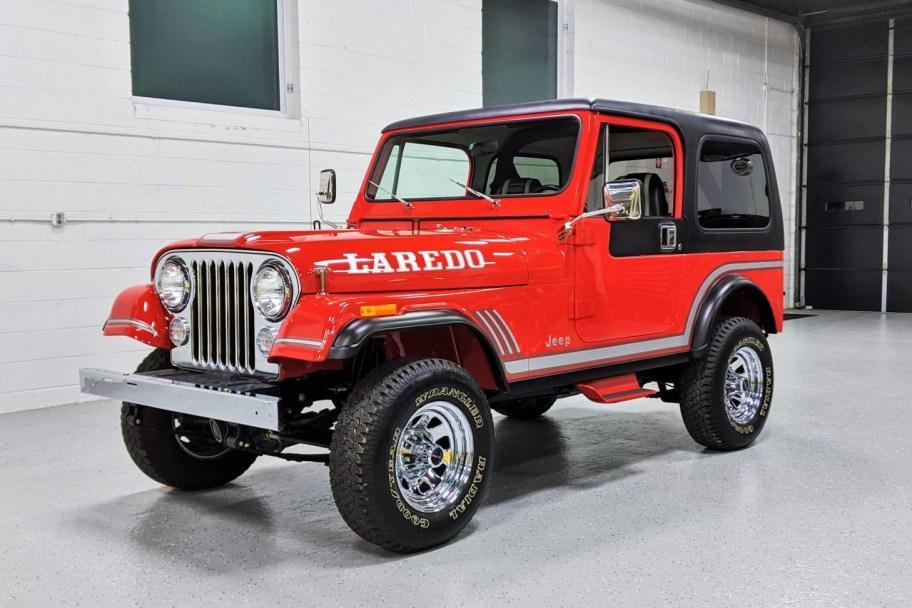 1985 Jeep CJ-7 Laredo 4x4 5-Speed
