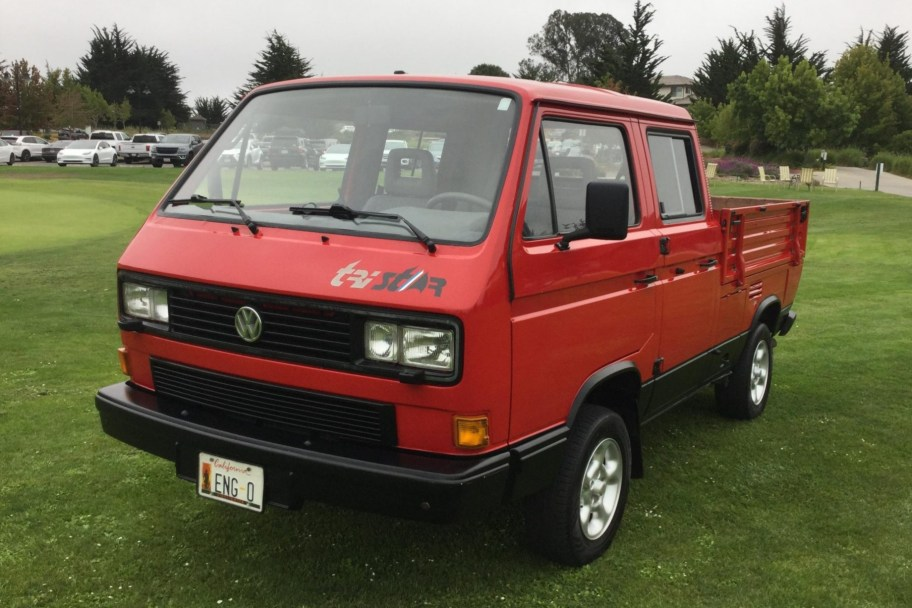 1.9L TDI-Powered 1989 Volkswagen T3 Doka TriStar