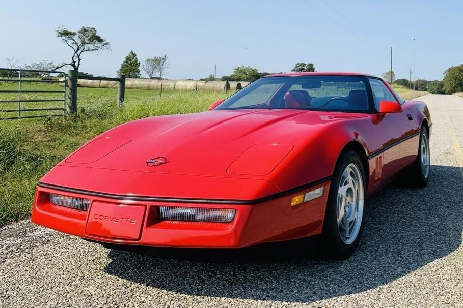 4k-Mile 1990 Chevrolet Corvette ZR-1