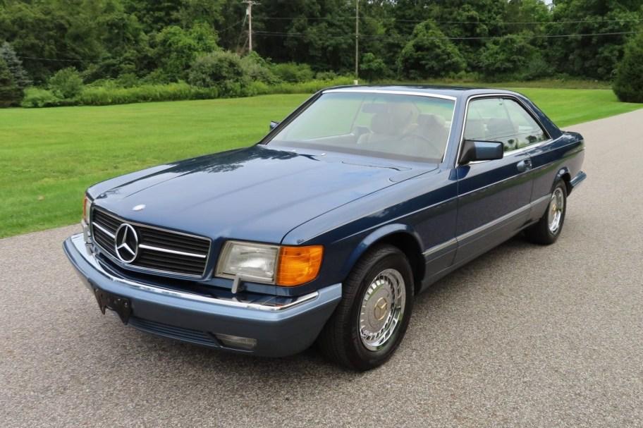 51k-Mile 1990 Mercedes-Benz 560SEC