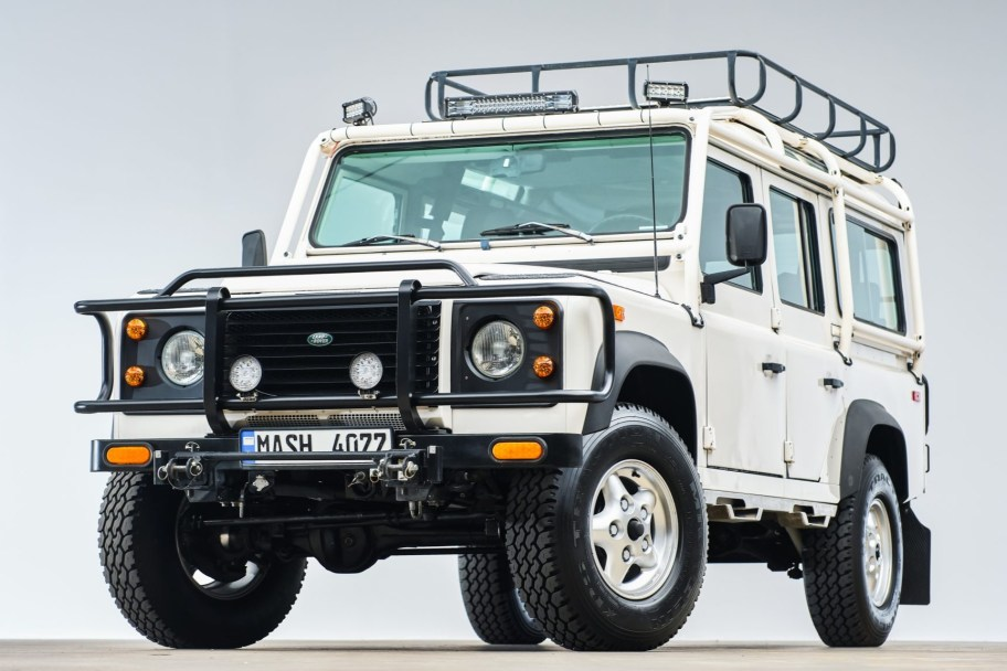 300Tdi-Powered 1993 Land Rover Defender 110 NAS 5-Speed