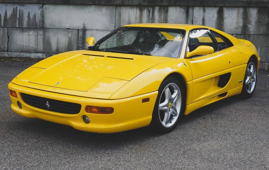 31k-Mile 1998 Ferrari F355 GTS 6-Speed