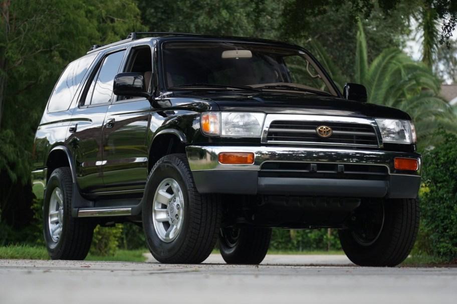 No Reserve: 24k-Mile 1998 Toyota 4Runner 4WD SR5