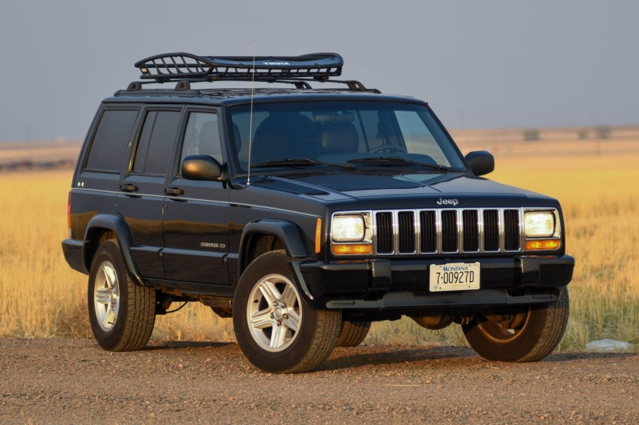 No Reserve: 2000 Jeep Cherokee Limited 4x4