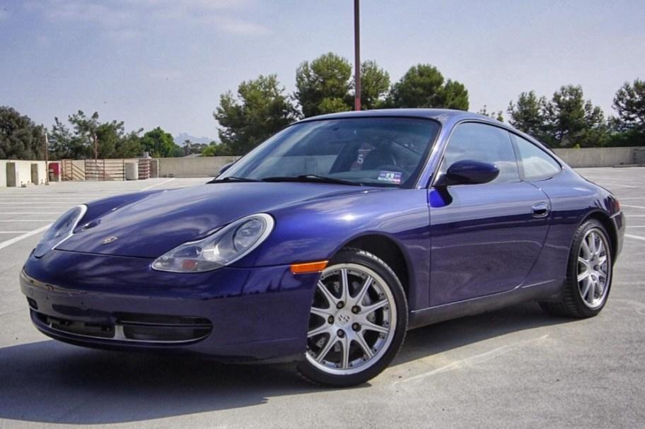 2001 Porsche 911 Carrera 4 Coupe 6-Speed