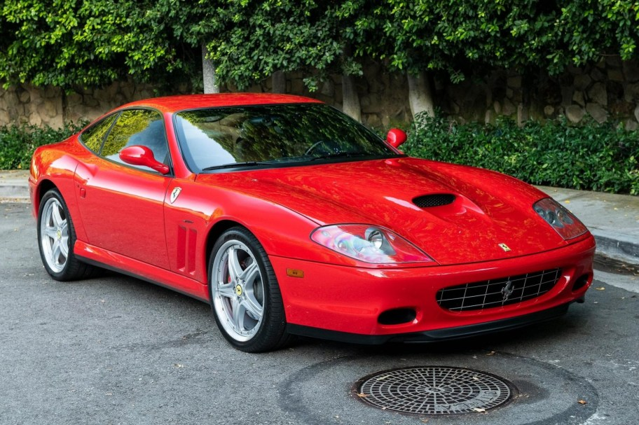 19k-Mile 2004 Ferrari 575M Maranello 6-Speed