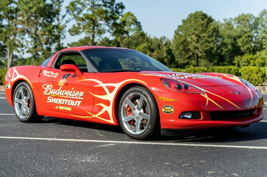 1,500-Mile 2007 Chevrolet Corvette Coupe Budweiser Shootout Pace Car