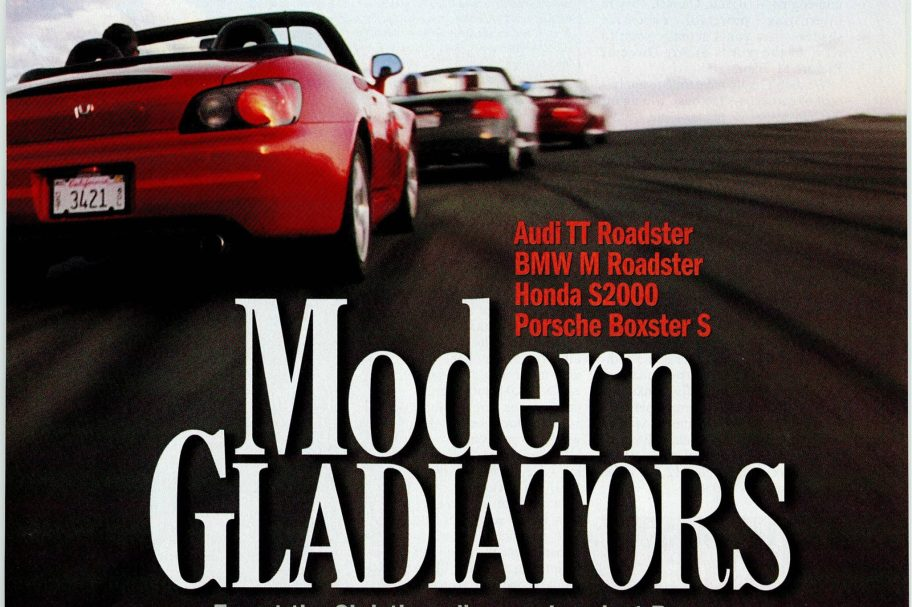 Road & Track Road Test: Honda S2000 Against the Germans