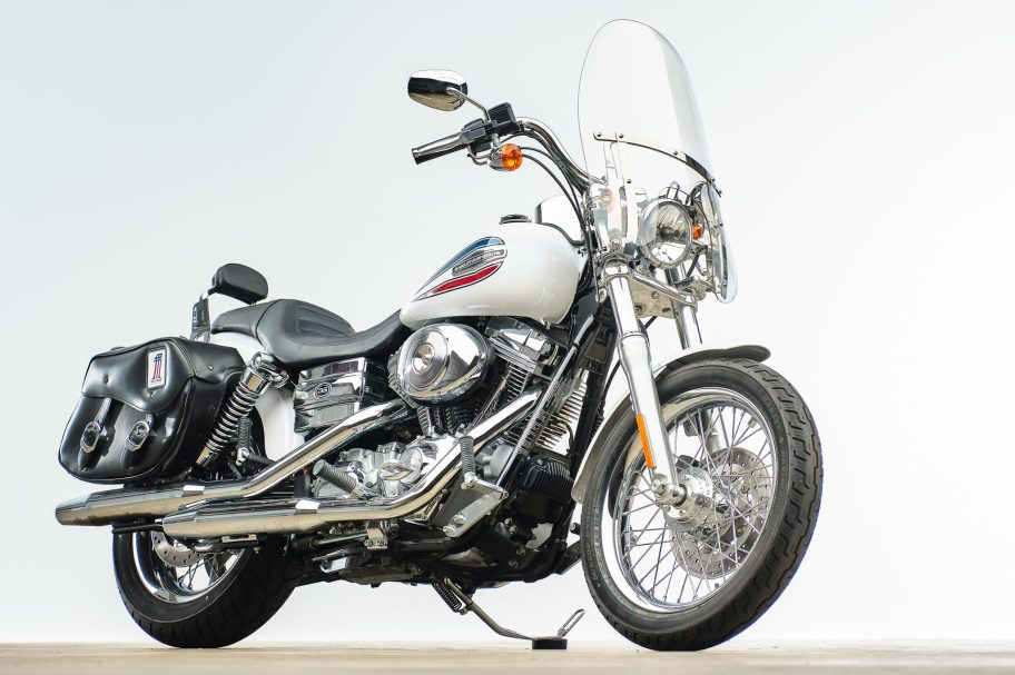 1k-Mile 2006 Harley-Davidson 35th Anniversary Super Glide