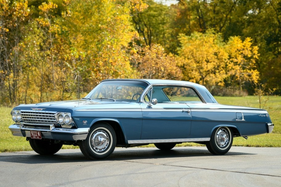409-Powered 1962 Chevrolet Impala SS Tribute 4-Speed