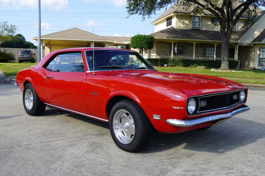 26-Years-Owned 1968 Chevrolet Camaro 4-Speed Project