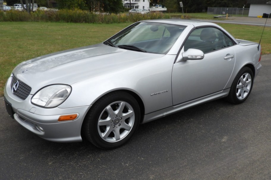 2001 Mercedes-Benz SLK230 6-Speed