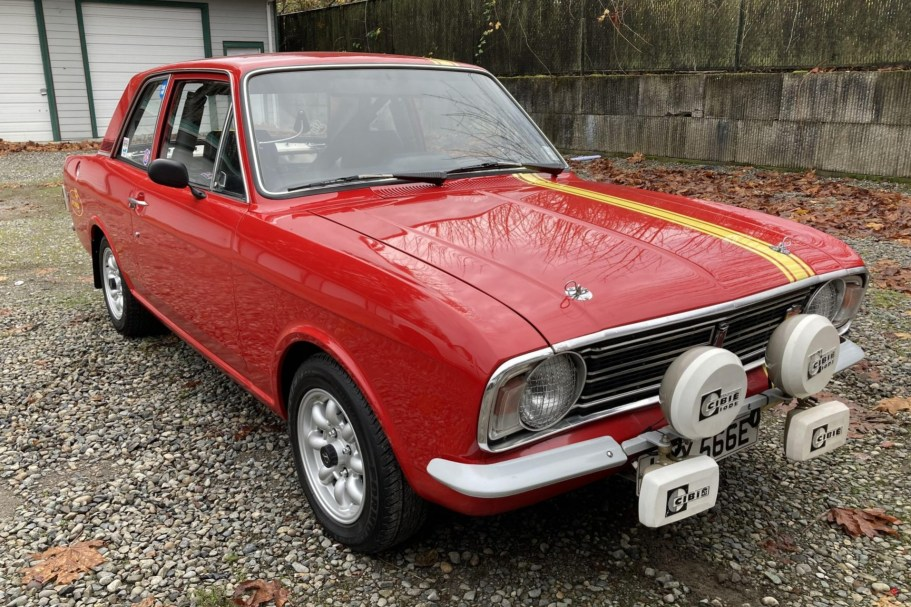 Focus SVT–Powered 1967 Ford Cortina GT Mk II 5-Speed