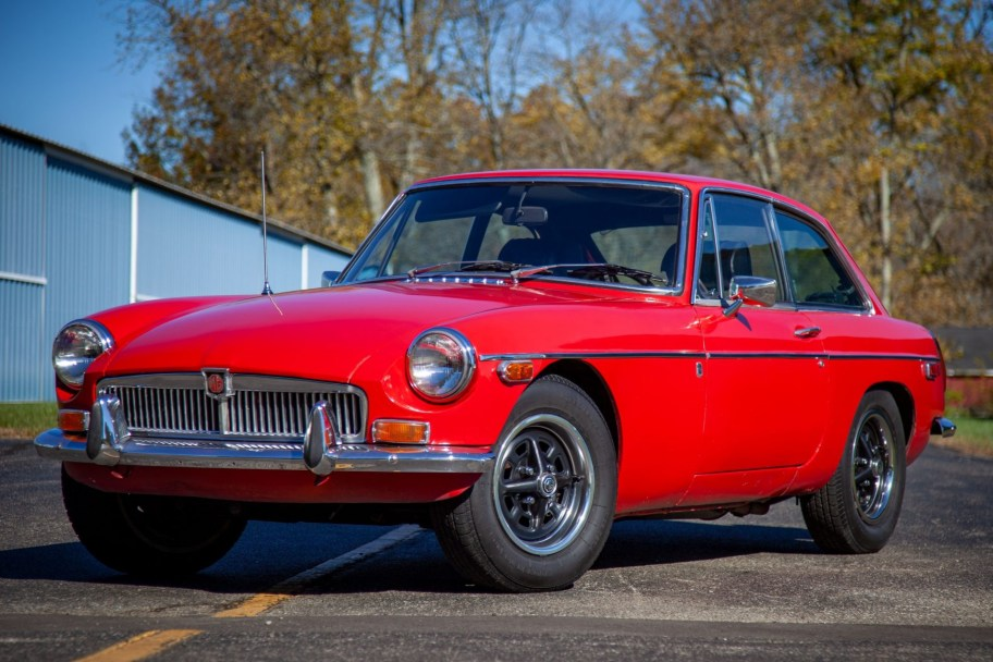 No Reserve: 1973 MG MGB GT
