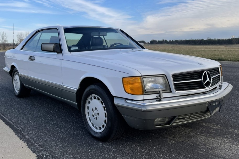 No Reserve: 1988 Mercedes-Benz 560SEC