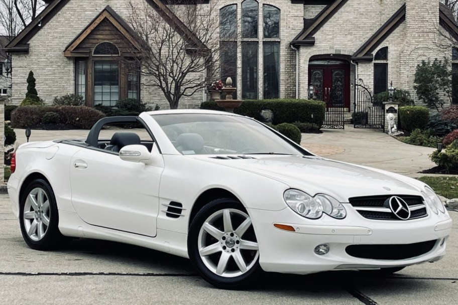 No Reserve: 41k-Mile 2003 Mercedes-Benz SL500