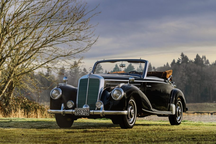 62-Years-Owned 1952 Mercedes-Benz 220 Cabriolet A