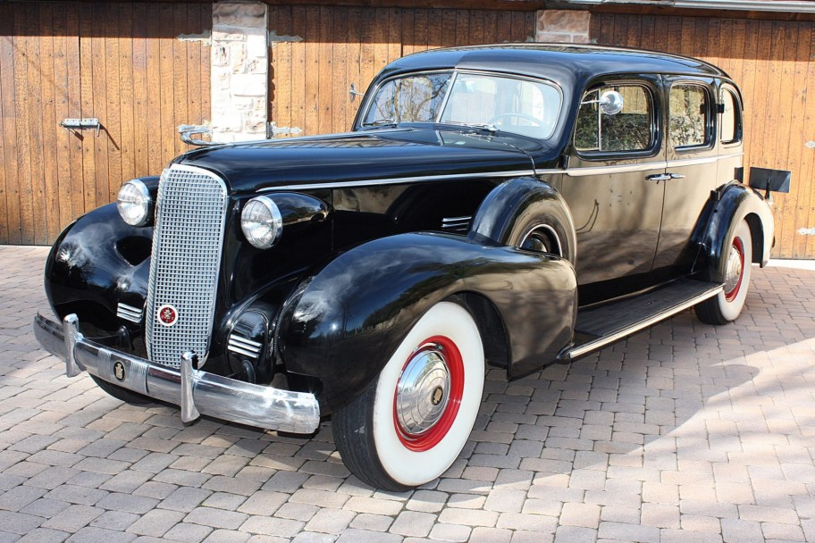 47-Years-Owned 1937 Cadillac Series 75 Sedan by Fleetwood