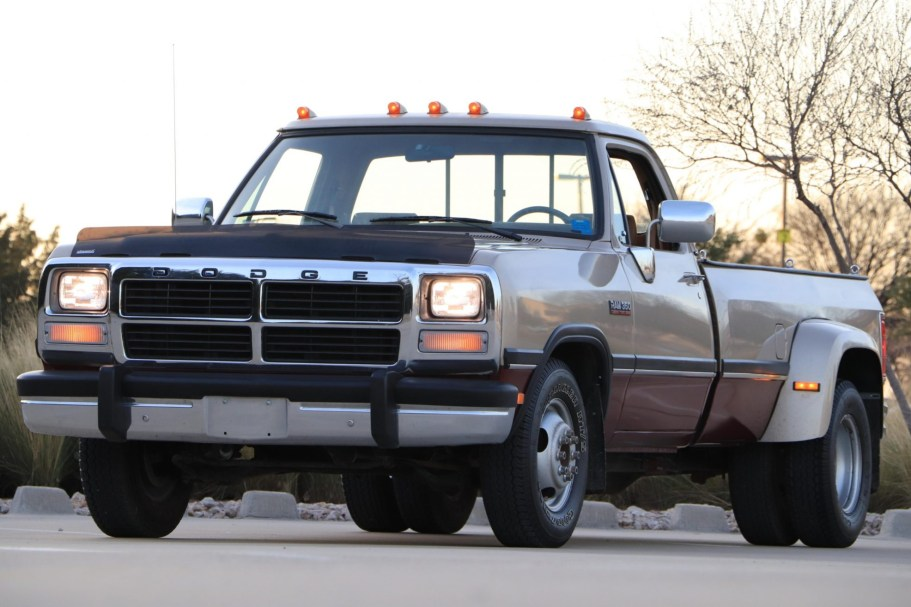 32k-Mile 1992 Dodge Ram 350 Cummins Dually 5-Speed