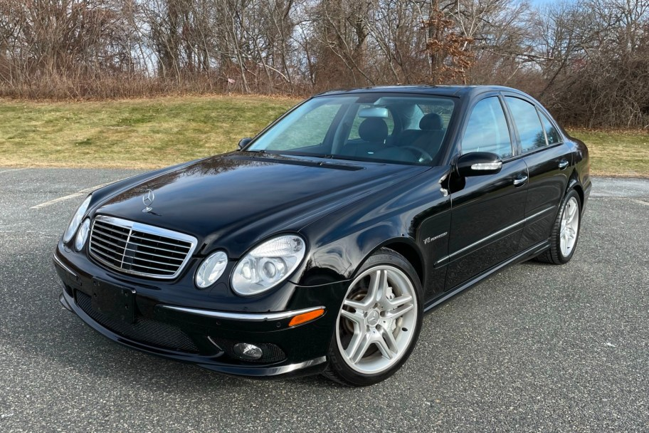 44k-Mile 2004 Mercedes-Benz E55 AMG Sedan