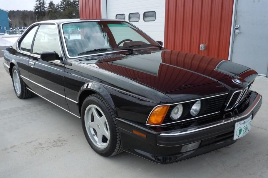 No Reserve: 25k-Mile 1989 BMW 635CSi