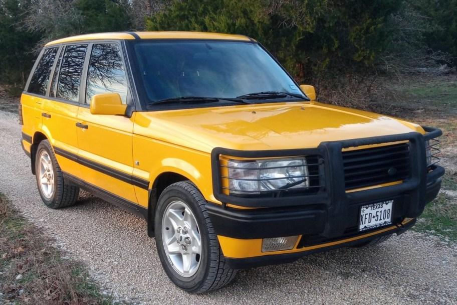 No Reserve: 1997 Land Rover Range Rover 4.6 HSE Vitesse