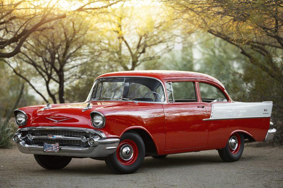 1957 Chevrolet 150 2-Door Sedan Fuelie 3-Speed
