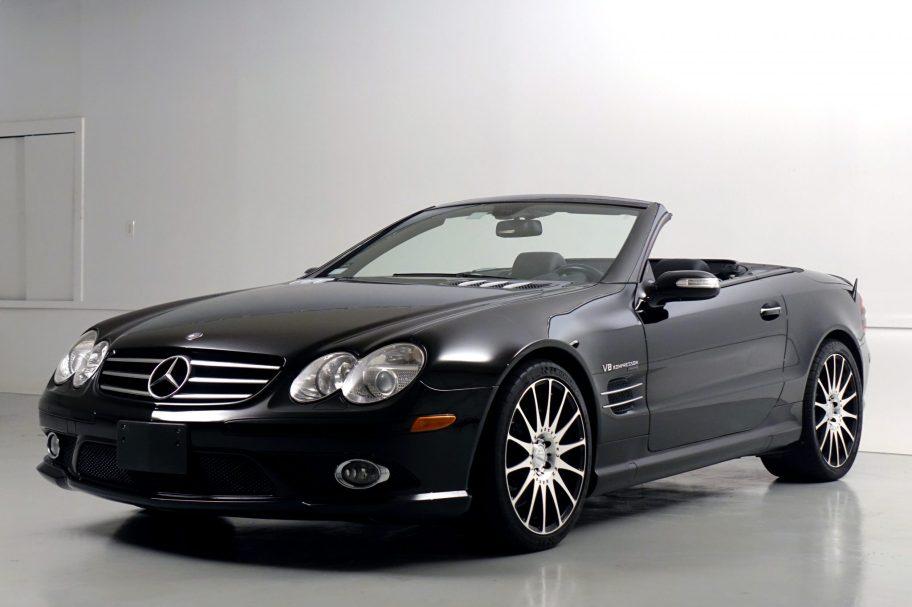 No Reserve: 2007 Mercedes-Benz SL55 AMG