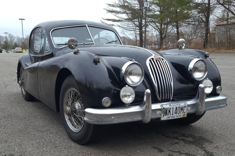 54-Years-Owned 1956 Jaguar XK140 Fixed Head Coupe
