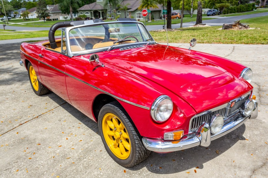 No Reserve: 25-Years-Owned Supercharged 1964 MG MGB Roadster