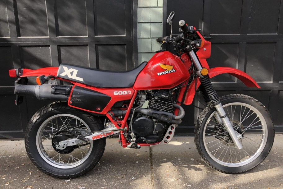 No Reserve: 4k-Mile 1983 Honda XL600R