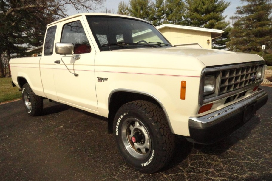 No Reserve: 1988 Ford Ranger XLT SuperCab 4x4