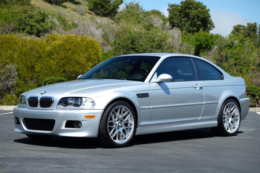 48k-Mile 2001 BMW M3 Coupe 6-Speed