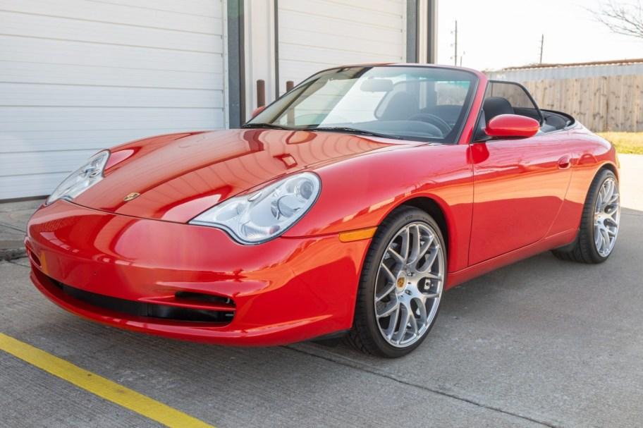 23k-Mile 2002 Porsche 911 Carrera Cabriolet 6-Speed