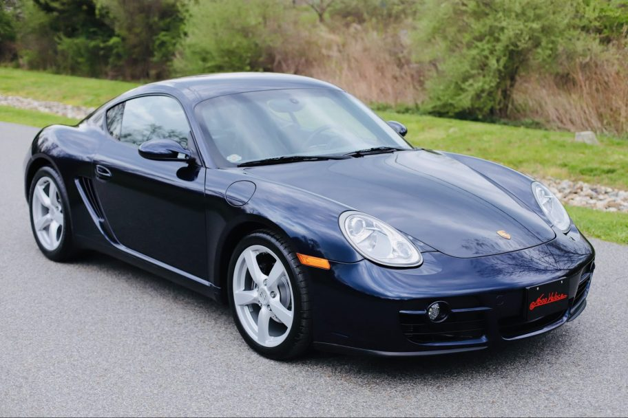 46k-Mile 2007 Porsche Cayman 5-Speed