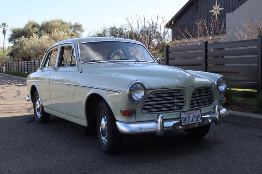 No Reserve: 1966 Volvo 122S 4-Door Sedan