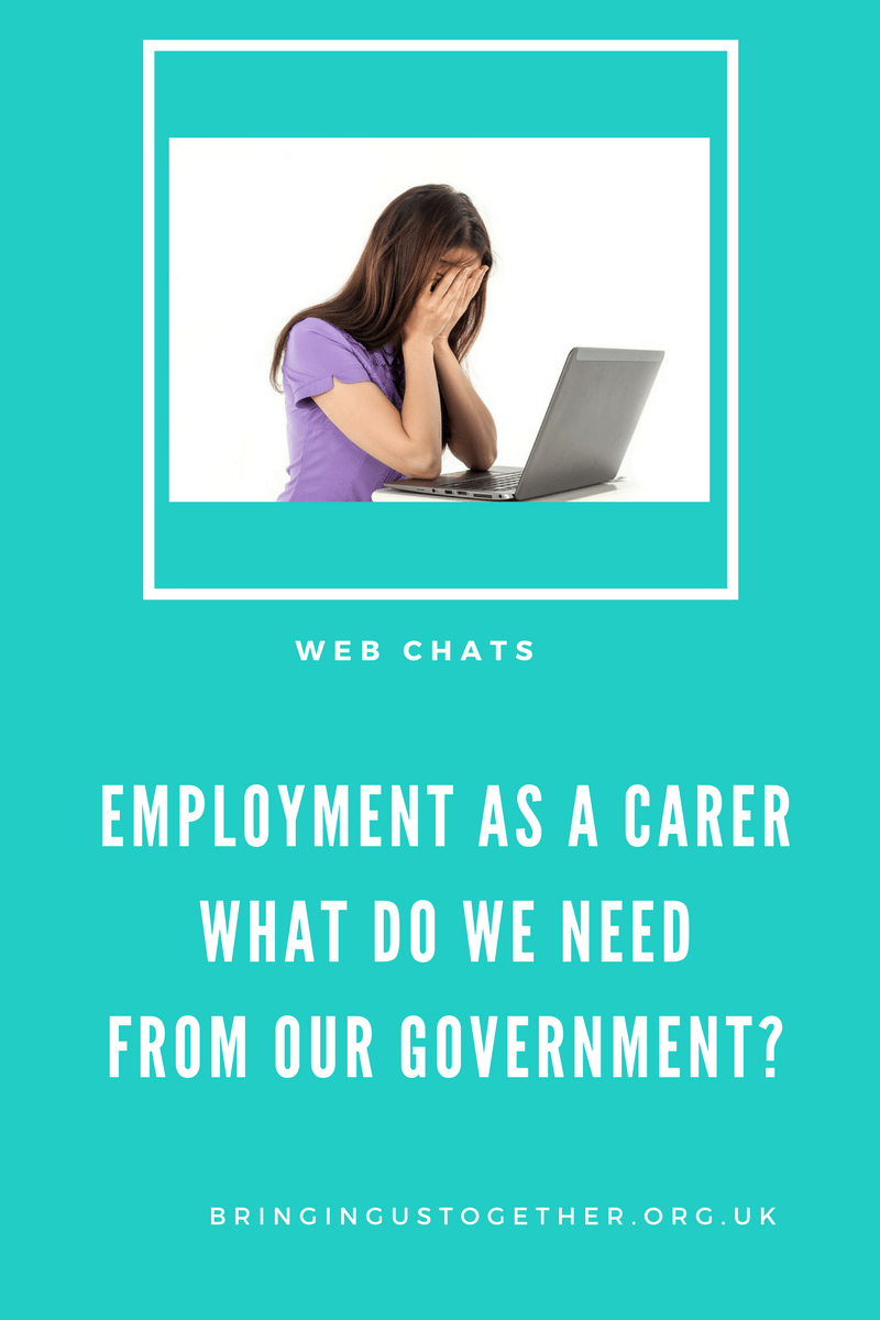 What do Parent Carers need from the Government to help with employment?