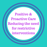 Reducing the need for restrictive interventions