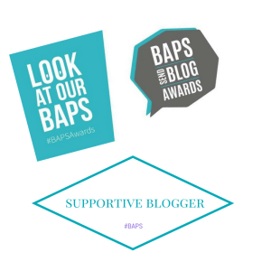 BAPS Nominations - Supportive Blogger
