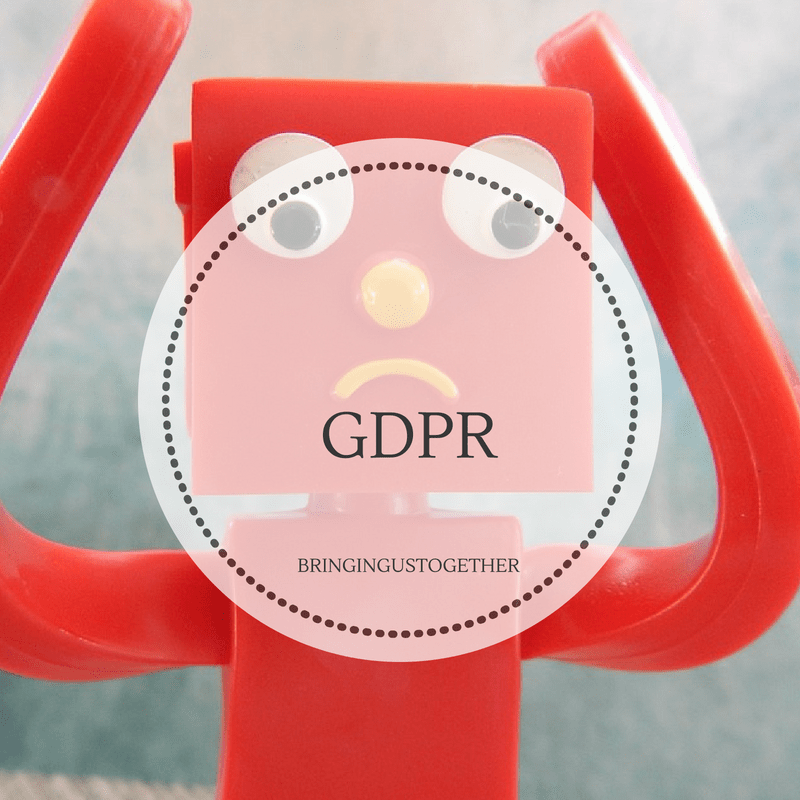 GDPR – sorry, yet another one of those emails!