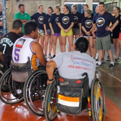 Wheelchair Volleyball Chippendale Rocking Chair Sitting The Game Will Find A Way In Nicaragua S Capital City Of Managua Several Disabled Athletes Rolled Into Gym To Lowered Net Strung Across Sized Down Court