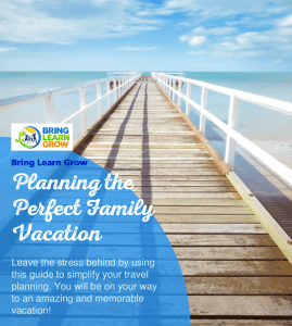 ebook, planning travel, family travel, family travel planning guide