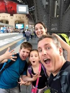 Family Train, Family Travel, Family vacation, Family vacation Germany