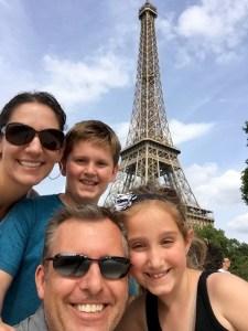 Family vacation Paris, Eiffel Tower Paris, Family Paris Trip
