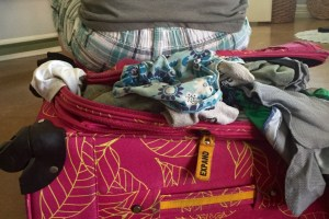 Over Packing luggage, luggage, family travel, family vacation