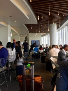 Centurion lounge review, MIA Terminal D