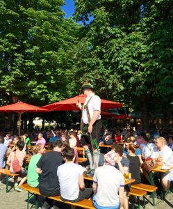 Beer Garden Munich, Family vacation Munich
