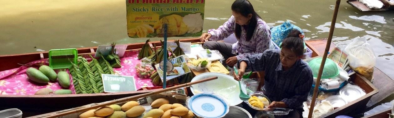 Thailand, Bangkok, Floating Market, Bangkok floating market