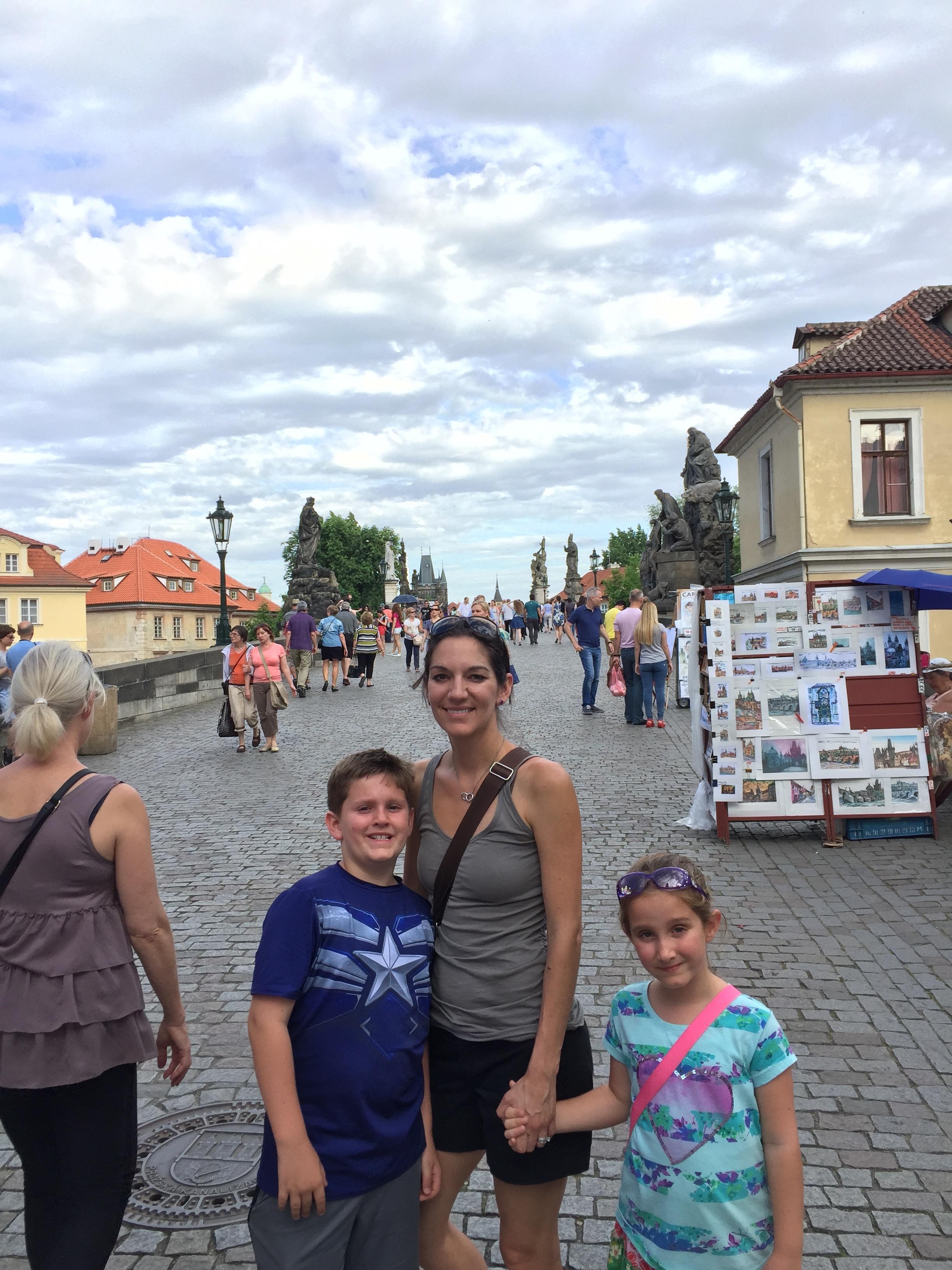 Charles Bridge, Charles Bridge Prague, Prague, Prague family vacation