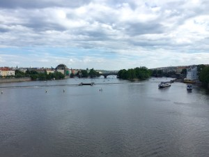 Charles Bridge View, family Prague vacation